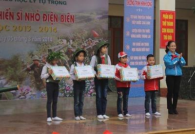 Hội đồng Đội thành phổ tổ chức chuyên đề: Hành quân Chiến sĩ nhỏ Điện Biên
