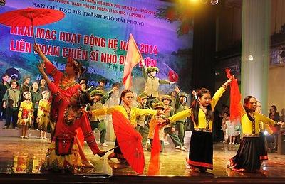 Thành đoàn: Khai mạc hoạt động hè năm 2014, Liên hoan chiến sĩ nhỏ Điện Biên năm học 2013 - 2014