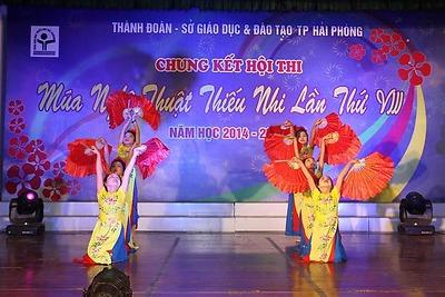 Chung kết Hội thi Múa nghệ thuật thiếu nhi thành phố lần thứ VIII, năm học 2014 - 2015