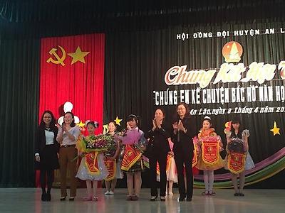 """Hội đồng Đội huyện An Lão: Hội thi """"Chúng em kể chuyện Bác Hồ"""" năm học 2014 - 2015"""