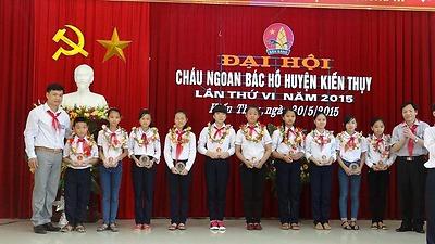 Đại hội Cháu ngoan Bác Hồ huyện Kiến Thụy lần thứ VI, năm 2015