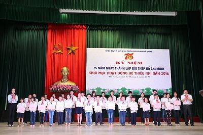 Quận đoàn Đồ Sơn: Kỷ niệm 75 năm Ngày thành lập Đội TNTP Hồ Chí Minh