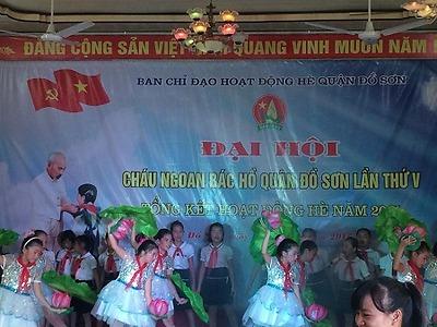Đại hội Cháu ngoan Bác Hồ quận Đồ Sơn lần thứ V