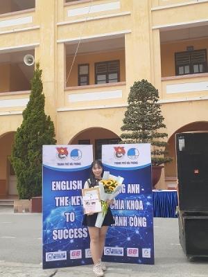 Nguyễn Thị Thảo Vân, gương sinh viên 5 Tốt HPU năm 2020