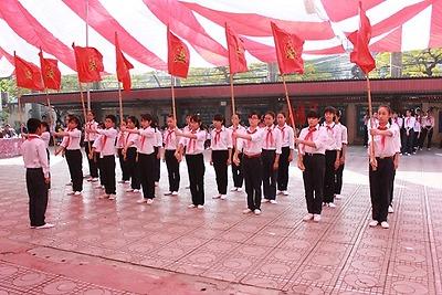 """Chuyên đề """"Hội thi Nghi thức Đội Thiếu niên Tiền phong Hồ Chí Minh"""" năm học 2015 - 2016"""