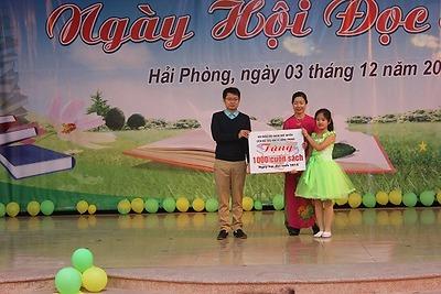 """Chuyên đề điểm cấp thành phố """"Ngày hội đọc sách"""" tại Liên đội Tiểu học Lê Hồng Phong"""