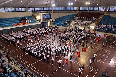 Hội thi Nghi thức Đội Thiếu niên Tiền phong Hồ Chí Minh năm học 2015 - 2016
