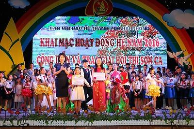 Khai mạc hoạt động hè năm 2016 - Công diễn và trao giải Hội thi Sơn ca