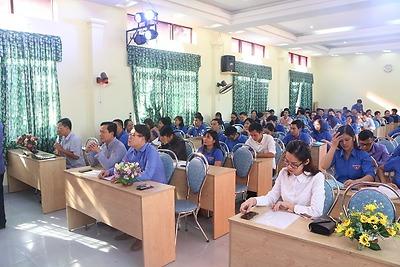 Ủy ban Hội LHTN Việt Nam thành phố tổ chức lớp tập huấn kỹ năng, nghiệp vụ cho cán bộ Hội LHTN Việt Nam thành phố năm 2018