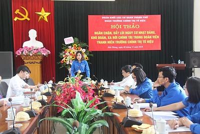 Đồng chí Dương Thị Kim Toan - Bí thư Đoàn TNCS Hồ Chí Minh trường Chính trị Tô Hiệu tấm gương tiêu biểu về học tập và làm theo Bác