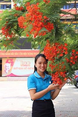 Trần Mỹ Linh, sinh viên 5 Tốt HPU năm 2020