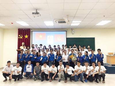 Đoàn Thanh niên - Hội Sinh viên trường Đại học Y Dược Hải Phòng tổ chức kiểm tra định kỳ công tác Đoàn - Hội tại các Chi Đoàn - Chi Hội