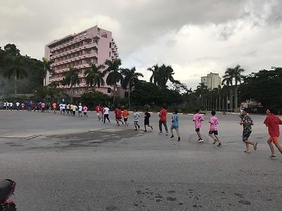 Đoàn trường PTNT Đồ Sơn phát động và tham gia Chương trình những bước chân vì cộng đồng