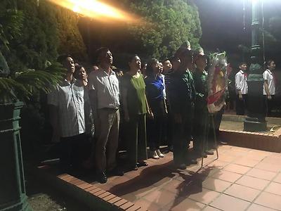 Huyện Đoàn Cát Hải tổ chức lễ thắp nến tri ân các anh hùng liệt sĩ nhân dịp kỷ niệm 73 năm ngày thương binh, liệt sĩ (27/7/1947-27/7/2020)