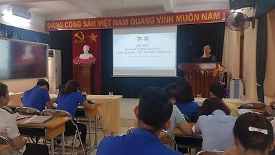 Quận Đoàn Ngô Quyền tổ chức Lớp tập huấn kiến thức, nghiệp vụ công tác Đoàn – Hội – Đội đợt II năm 2019