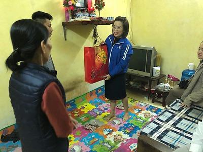 Đoàn Thanh niên - Hội LHTN Việt Nam quận Hồng Bàng tổ chức các hoạt động an sinh xã hội nhân dịp Tết Nguyên đán Canh Tý 2020