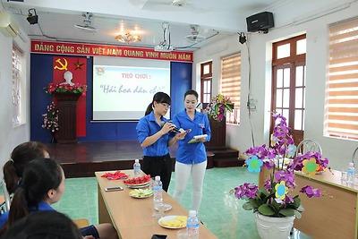 """QĐ Ngô Quyền: 100% chi đoàn có tổ chức sinh hoạt chi đoàn theo chủ điểm với chủ đề """"Tuổi trẻ Việt Nam sắt son niềm tin với Đảng"""""""