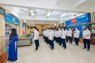 Quận đoàn - Hội LHTN Việt Nam quận Hải An: tổ chức hoạt động tuyên truyền, giới thiệu về Đoàn Thanh niên cộng sản Hồ Chí Minh cho hội viên, giới thiệu hội viên kết nạp Đoàn