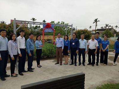 Huyện đoàn Kiến Thụy: Công trình măng non cấp huyện