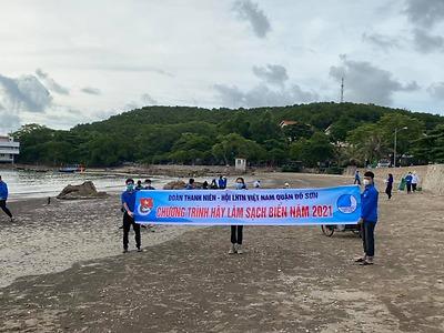 Chương trình Hãy làm sạch biển năm 2021