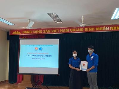 Thành lập Câu lạc bộ Cầu lông quận Đồ Sơn