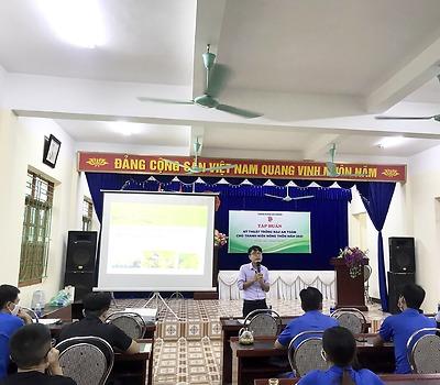 Tập huấn chuyển giao Khoa học kỹ thuật cho thanh niên nông thôn năm 2021