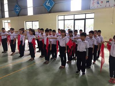 Huyện đoàn-hội đồng đội huyện An Dương chỉ đạo tổ chức làm điểm mô hình lớp tập huấn cho 30 cán bộ chỉ huy Đội tại Liên đội Võ Thị Sáu, trường tiểu học An Hồng