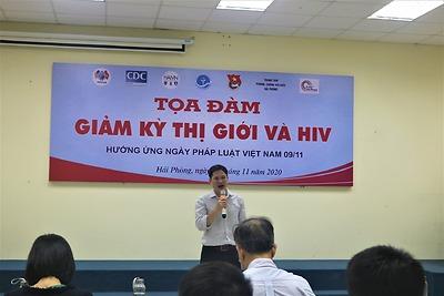Đoàn Thanh niên - Hội Sinh viên Trường Đại học Y Dược Hải Phòng tổ chức tọa đàm