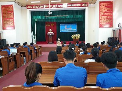 Huyện An Dương - Hội nghị tập huấn kỹ năng nghiệp vụ cho đội ngũ cán bộ Đoàn, Hội năm 2020