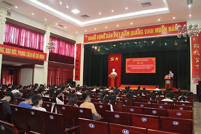 Đoàn Thanh niên - Hội Sinh viên trường Đại học Y Dược Hải Phòng tổ chức Hội nghị tổng kết công tác Đoàn - Hội và phong trào thanh niên năm 2020; triển khai phương hướng, nhiệm vụ năm 2021.