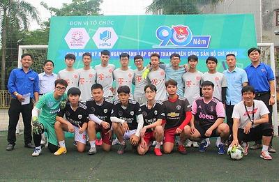 Cúp bóng đá cúp mùa xuân HPU 2021