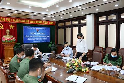 Hội nghị kiểm tra công tác Đoàn và phong trào thanh niên 6 tháng đầu năm 2021