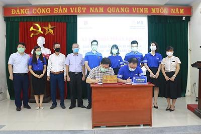 Thành đoàn & Ngân hàng TMCP Quân đội – Chi nhánh Bắc Hải Phòng: Ký thỏa thuận hợp tác trong công tác hỗ trợ vốn vay cho thanh niên phát triển kinh tế