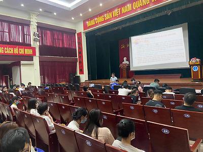 Đoàn Thanh niên Trường Đại học Y Dược Hải Phòng tổ chức Hội nghị triển khai Luật Thanh niên năm 2020