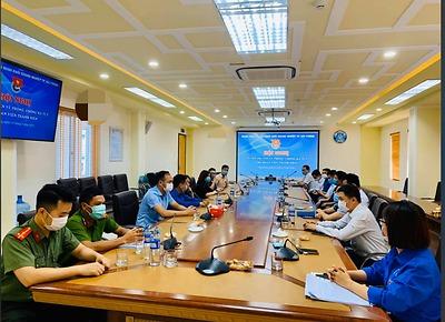 Đoàn Khối đã tổ chức Hội nghị Tuyên truyền về phòng, chống ma tuý năm 2021 cho Đoàn viên thanh niên.