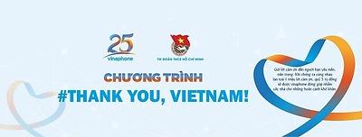 #THANK YOU, VIETNAM! – KHỞI TẠO LỜI CẢM ƠN, XÂY DỰNG NGUỒN QUỸ NHÂN ÁI