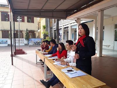 Huyện đoàn Kiến Thụy: Chấm nghi thức Đội năm học 2020 - 2021