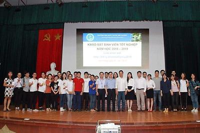 BCH Đoàn Thanh niên - Hội Sinh viên trường ĐH Y Dược Hải Phòng tổ chức chương trình