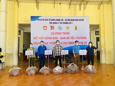 Quận Đoàn Ngô Quyền hỗ trợ tiêu thụ 10 vấn vải Bắc Giang