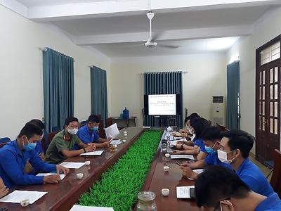Huyện đoàn Kiến Thuỵ: Khai mạc hoạt động hè và chiến dịch thanh niên tình nguyện hè năm 2021
