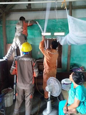 Đoàn thanh niên Công ty TNHH MTV Điện lực Hải Phòng triển khai các công trình trong Chiến dịch Tình nguyện hè năm 2021