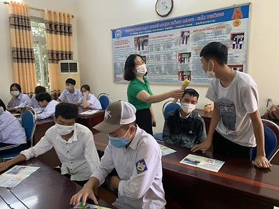 Diễn đàn xây dựng tình bạn đẹp - nói không với bạo lực học đường - Trung tâm GDNN-GDTX quận Hồng Bàng
